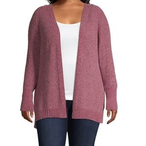 Crushed Berry Cardigan